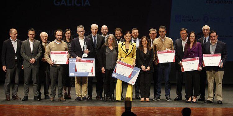 Entrega de los Premios AJE Galicia el pasado año