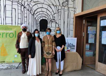 El programa se presentó esta mañana en la oficina de turismo del muelle de Curuxeiras