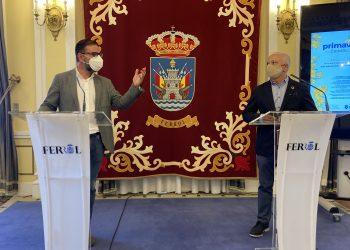 Ángel Mato y Manuel Mirás presentan la Primavera en el Camino Inglés | AYUNTAMIENTO DE FERROL