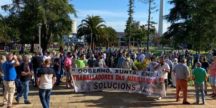 La manifestación fue convocada por los tres sindicatos mayoritarios  | CIG
