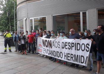 Concentración frente al SMAC de Ferrol | CIG