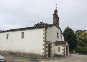 Parroquia de San Juan de Covas, en Viveiro