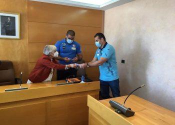 Recepción en el ayuntamiento de Vilalba.