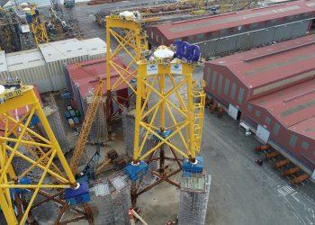 Los astilleros de Navantia Fene ya han participado en media docena de proyectos de eólica offshore