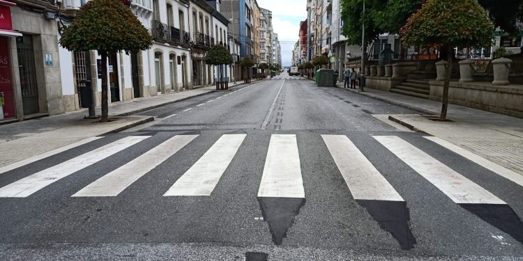 Abierta la calle de A Pravia | CONCELLO DE VILALBA