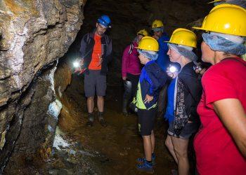 Grutas y minas forman parte de estos itinerarios