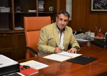 Luis Rey, alcalde de Oroso