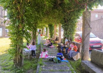 Brión celebra talleres de música gallega