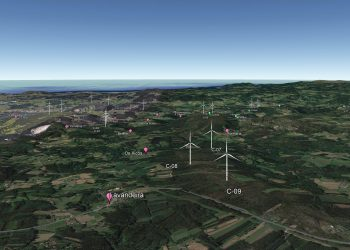 Proyecto de parque eólico de Caaveiro