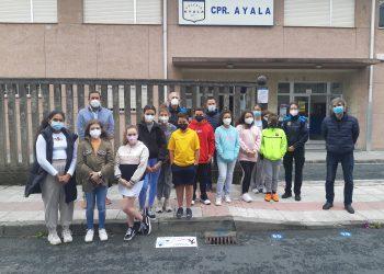 Presentación de los pictogramas del colegio Ayala de Narón