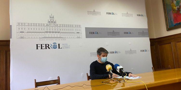 Jorge Suárez, exalcalde y portavoz de Ferrol en Común