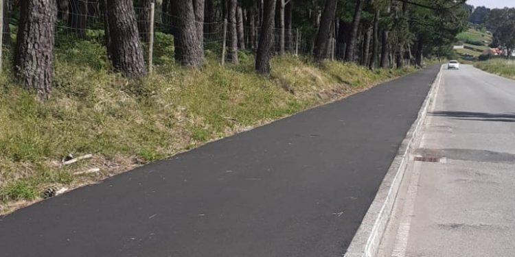 Carril bici reparado en Doniños | AYUNTAMIENTO DE FERROL