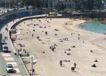 Playa de Riazor   POLICÍA LOCAL