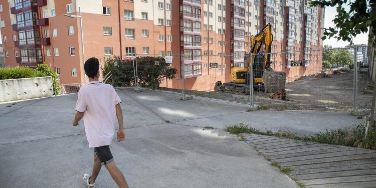 Trabajos en el corredor verde de Novo Mesoiro | AYUNTAMIENTO DE A CORUÑA