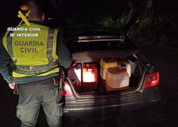 Detenido por robar 800 litros de gasóleo   GUARDIA CIVIL