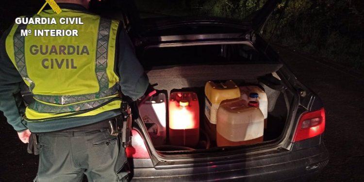 Detenido por robar 800 litros de gasóleo | GUARDIA CIVIL