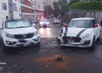 Imagen del incidente cedida por la Policía Local de Lugo a Europa Press.