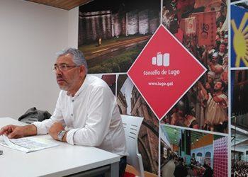 El portavoz municipal, Miguel Fernández, en una fotografía de archivo.   CONCELLO DE LUGO