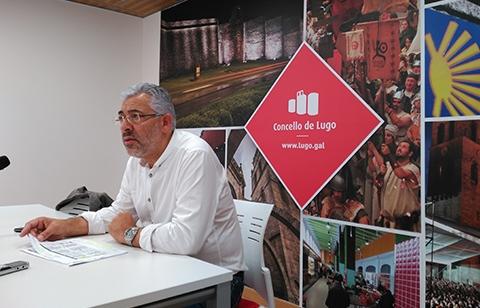 El portavoz municipal, Miguel Fernández, en una fotografía de archivo. | CONCELLO DE LUGO