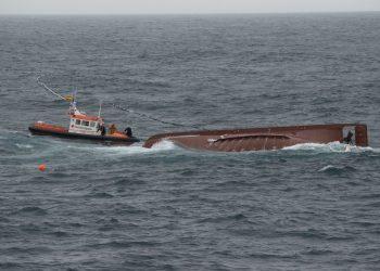 """Salvamento y Guardacostas """"acompañan"""" al buque en su deriva por la costa de Ferrolterra   SALVAMENTO MARÍTIMO"""