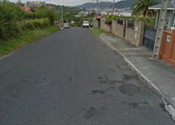 Rúa das Lousas en Serantes