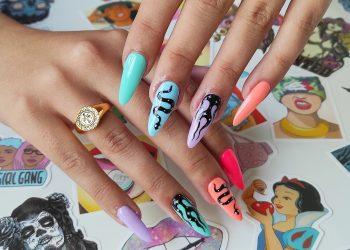 Imagen de unas uñas pintadas por Rebel Nails | CEDIDA