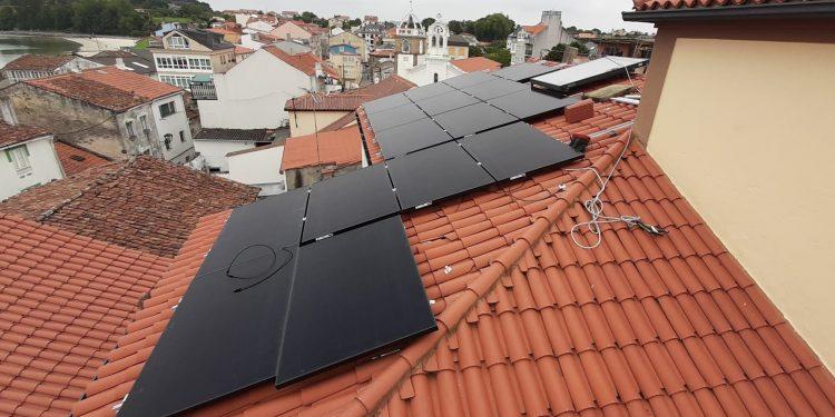 Paneles fotovoltaicos en Ares   CONCELLO DE ARES