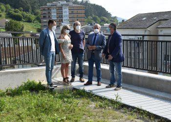 Visita de los representantes provinciales a Viveiro.   DEPUTACIÓN DE LUGO