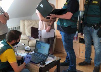 Registro de la Operación Pixels | GUARDIA CIVIL