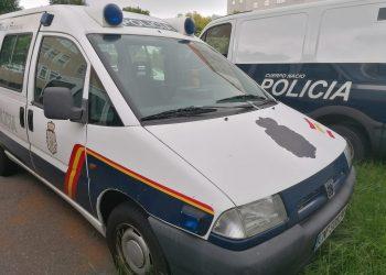 Vehículos de la Policía Nacional