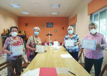 Participantes en el programa de envejecimiento activo   CONCELLO DE CABANAS
