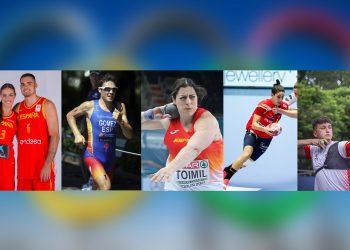 Los hermanos Abalde, Gómez Noya, Belén Tomil, Alicia Fernández y Dani Castro serán los representantes de las comarcas en Tokio