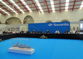 Archivo - Programa de la fragata F-110 | NAVANTIA