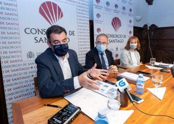 Román Rodríguez, Xosé Sánchez Bugallo y Belén Hernández. | XUNTA DE GALICIA