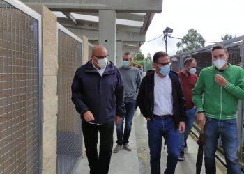 El alcalde de Ferrol y presidente del órgano, Ángel Mato, y regidores y ediles de los municipios que lo integran visitaron esta mañana las nuevas instalaciones