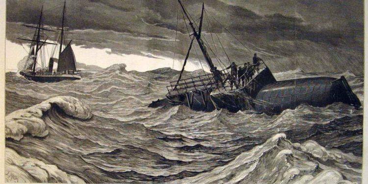 """Travesía do """"Cleopatra"""" dende Alexandría ata Ferrol"""
