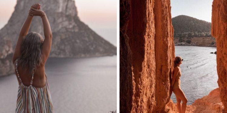 Ver la puesta de sol en el mirador de Es Vedrà. Hay que caminar un poco hasta llegar al acantilado pero merece la pena.
