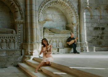 Imagen de una actuación de Manseliña,que actuará en Brión