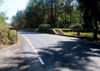 La carretera de Santo Arandel   CONCELLO DE BRIÓN