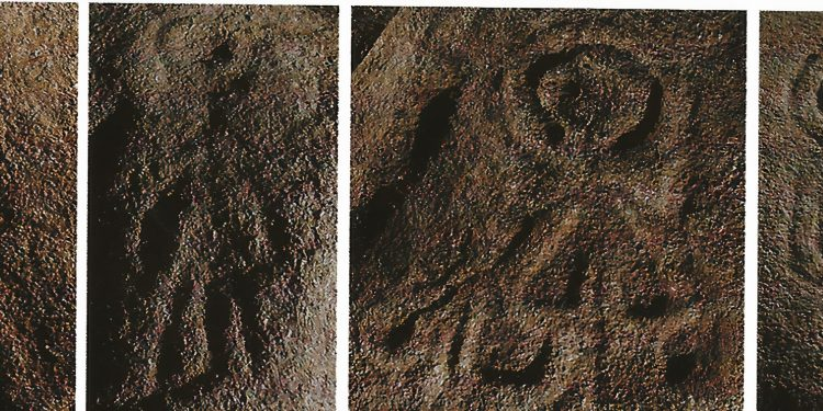 Figuras antropomorfas de Calvela y CHousa daVella,  Grupo Arqueolóxico da Terra de Trasancos, | JOSÉ SALGADO