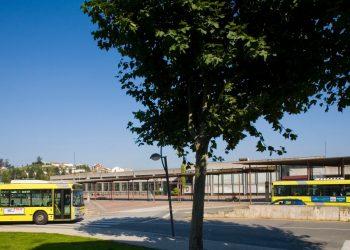 Imagen de archivo de la antigua estación de autobuses.   CONCELLO DE SANTIAGO