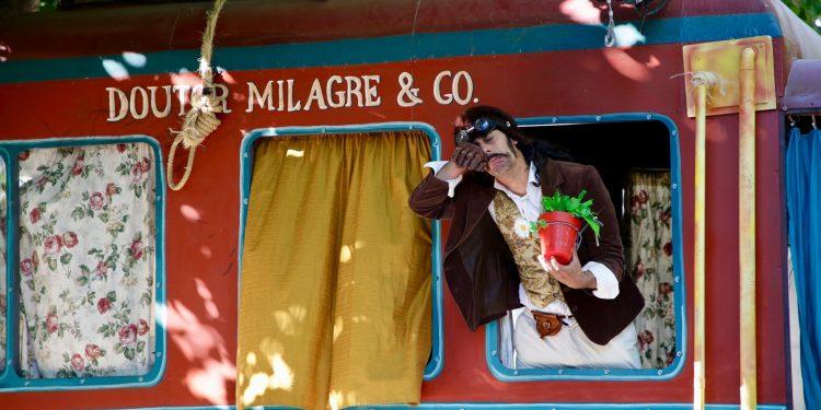 "Imagen de ""A Tropa do Doutor Miragre"" de Inventi Teatro"
