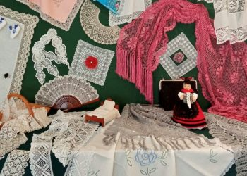 Los trabajos realizados en los talleres de la Asociación María del Mar Becerra se exponen esta semana   CONCELLO DE VALDOVIÑO