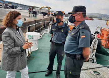 La subdelegada del Gobierno, María Rivas, visita al Servicio Martítimo de la Guardia Civil | SUBDELEGACIÓN DEL GOBIERNO