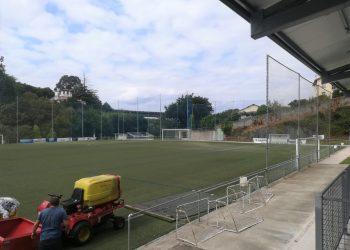 Renovación del campo de fútbol. | CONCELLO DE PONTEDEUME