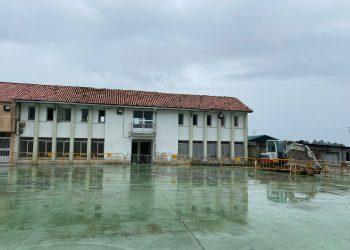 Imagen de las obras de la escuela unitaria | CONCELLO DE PONTEDEUME