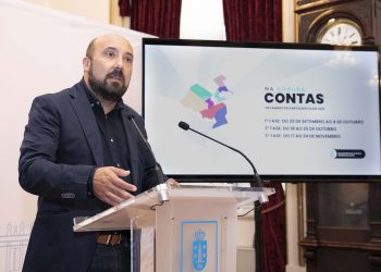 """José Manuel Lage presenta """"Na Coruña contas""""   CONCELLO DA CORUÑA"""