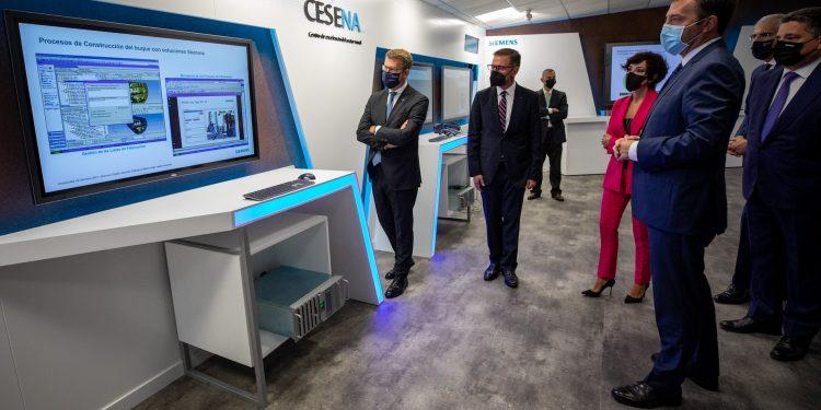 El nuevo Centro de Excelencia del Sector Naval impulsado por Siemens junto a Navantia fue inaugurado esta mañana