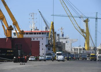 Imagen de archivo del puerto exterior de A Coruña   AUTORIDAD PORTUARIA
