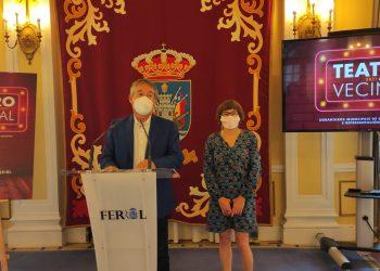 El concejal de Cultura de Ferrol presenta la iniciativa Teatro Vecinal   CONCELLO DE FERROL